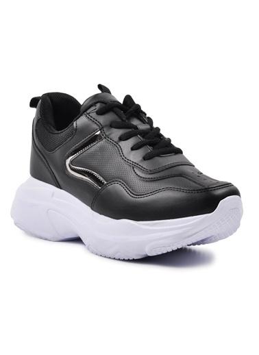 Walkway 053 Beyaz-Beyaz Spor Ayakkabı Siyah